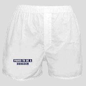 Proud to be Brogdon Boxer Shorts