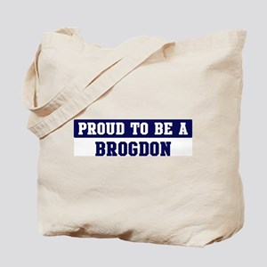 Proud to be Brogdon Tote Bag