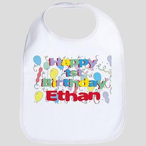 Ethan's 1st Birthday Bib
