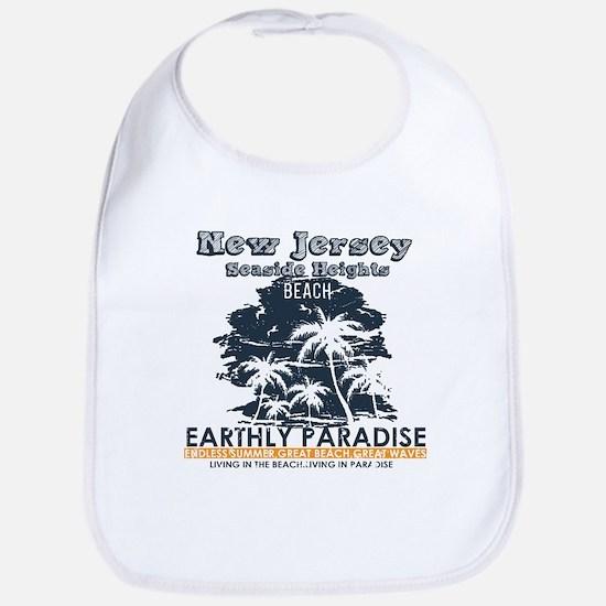 New Jersey - Seaside Heights Baby Bib