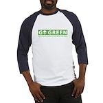 Go Green Alien Baseball Jersey