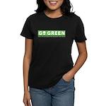 Go Green Alien Women's Dark T-Shirt