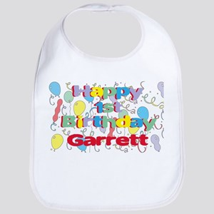 Garrett's 1st Birthday Bib