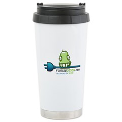 MonsterBytes Stainless Steel Travel Mug