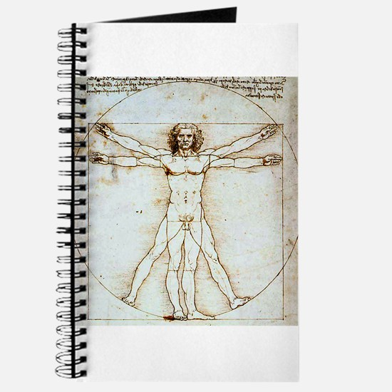 Vitruvian Man Journal