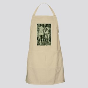 Death and Three Nude Women BBQ Apron