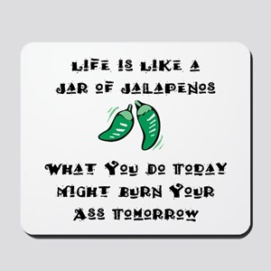 Funny Jalapenos Mousepad