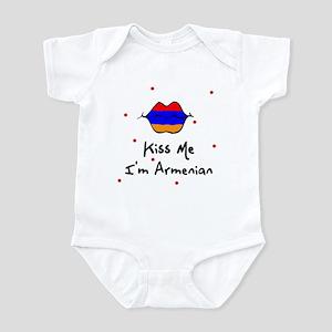 Kiss Me I'm Armenian Baby Toddler Infant Bodysuit