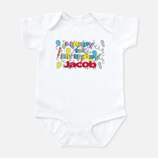 Jacob's 1st Birthday Infant Bodysuit
