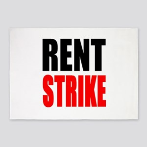 Rent Strike 5'x7'Area Rug