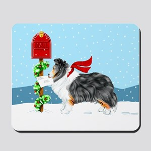 TriColor Sheltie Mail Mousepad