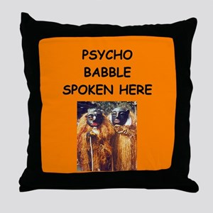 new age psychobabble Throw Pillow