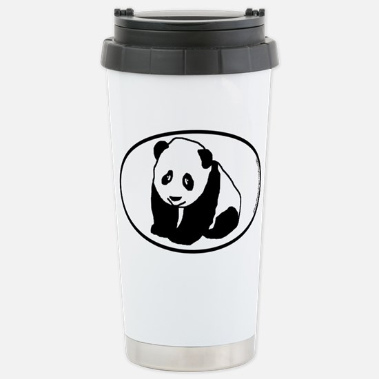Panda SILHOUETTE Stainless Steel Travel Mug