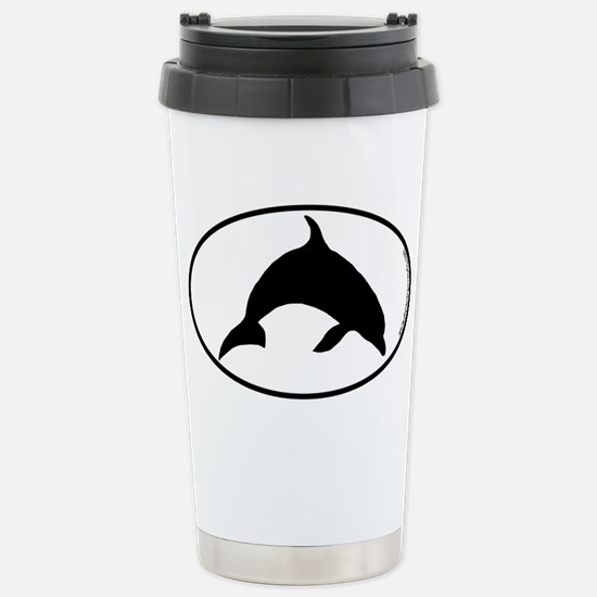 Dolphin SILHOUETTE Stainless Steel Travel Mug
