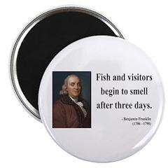 Benjamin Franklin 22 Magnet