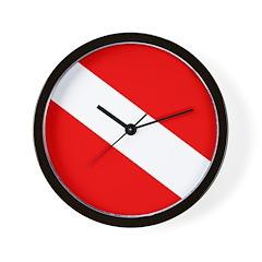https://i3.cpcache.com/product/293361296/scuba_flag_plain_wall_clock.jpg?side=Front&height=240&width=240