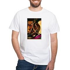 Saris White T-Shirt