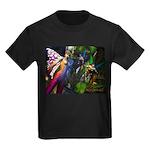 Three Dryads Kids Dark T-Shirt