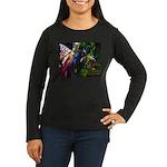 Three Dryads Women's Long Sleeve Dark T-Shirt