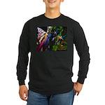 Three Dryads Long Sleeve Dark T-Shirt