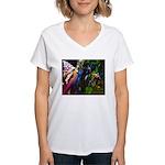 Three Dryads Women's V-Neck T-Shirt