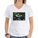 Mia and the Ogre Women's V-Neck T-Shirt