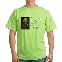 Benjamin Franklin 24 T-Shirt