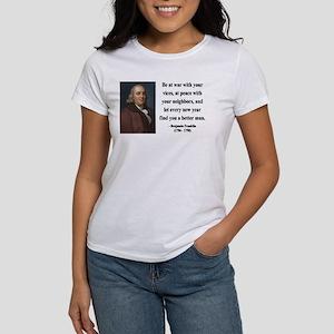 Benjamin Franklin 24 Women's T-Shirt