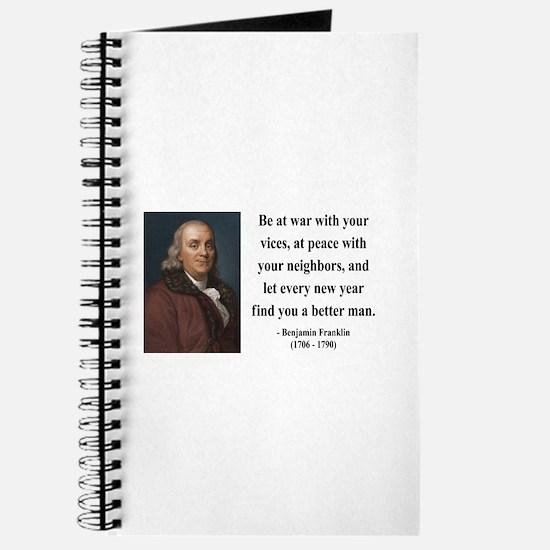 Benjamin Franklin 24 Journal