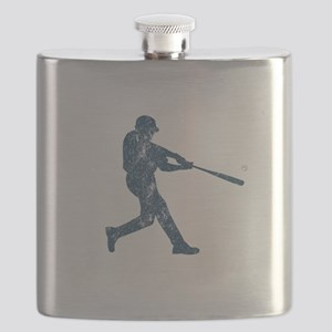 Dad's Are The Best Coaches Baseball Flask