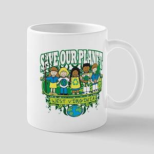 Earth Kids West Virginia Mug