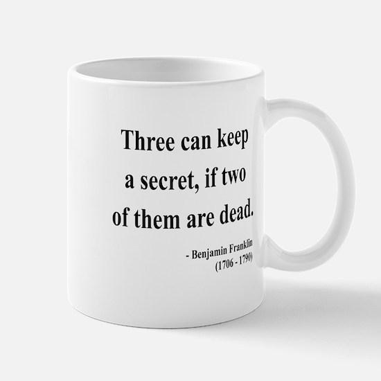 Benjamin Franklin 25 Mug