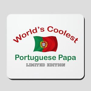 Coolest Portuguese Papa Mousepad