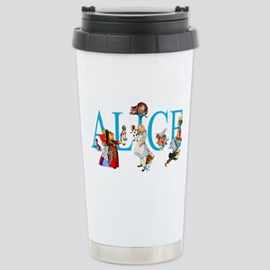 ALICE & FRIENDS IN WOND Stainless Steel Travel Mug