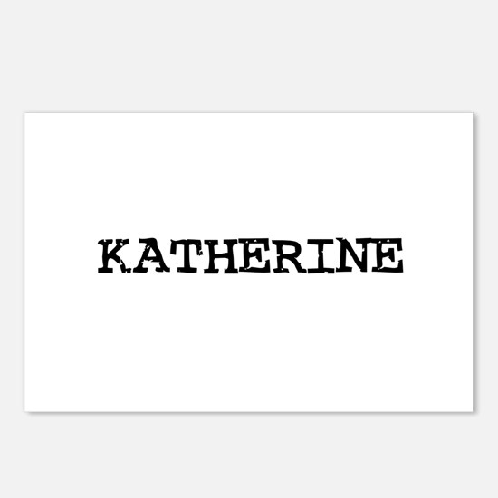 Katherine Postcards (Package of 8)