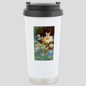 WATER LILY FAIRIES Stainless Steel Travel Mug