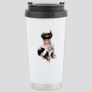 TEA TIME Stainless Steel Travel Mug