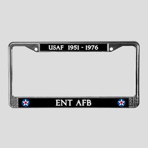Ent AFB License Plate Frame