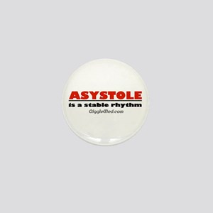 Asystole Mini Button