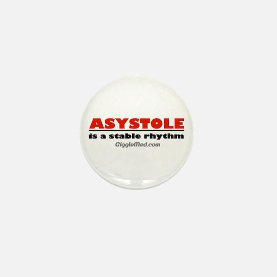 Asystole Mini Button