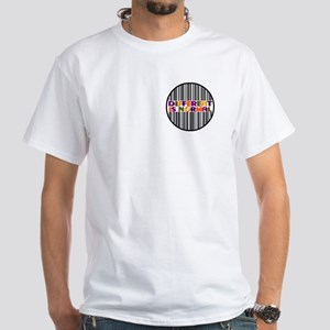 """""""Different Is Normal"""" White T-Shirt 10"""