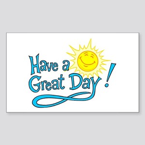 Have a Great Day Rectangle Sticker 10 pk)