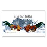 Raise Your Hackles Sticker