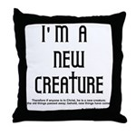 New Creature Throw Pillow