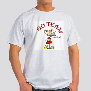 Go Team Cheerleading Light T-Shirt