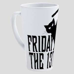 Friday the 13th 17 oz Latte Mug