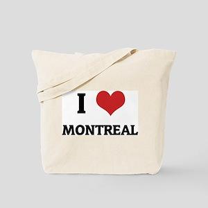 I Love Montreal Tote Bag