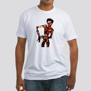 Egon Schiele Self-Portrait Fitted T-Shirt
