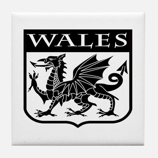 Wales Tile Coaster
