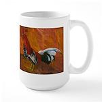 Morgan Whitehackle Rooster Large Mug